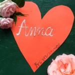 Kartka z kalendarza – Anny
